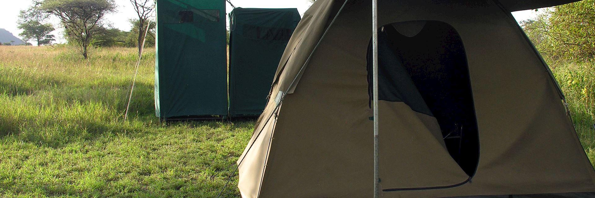 Mobile camp, Tanzania
