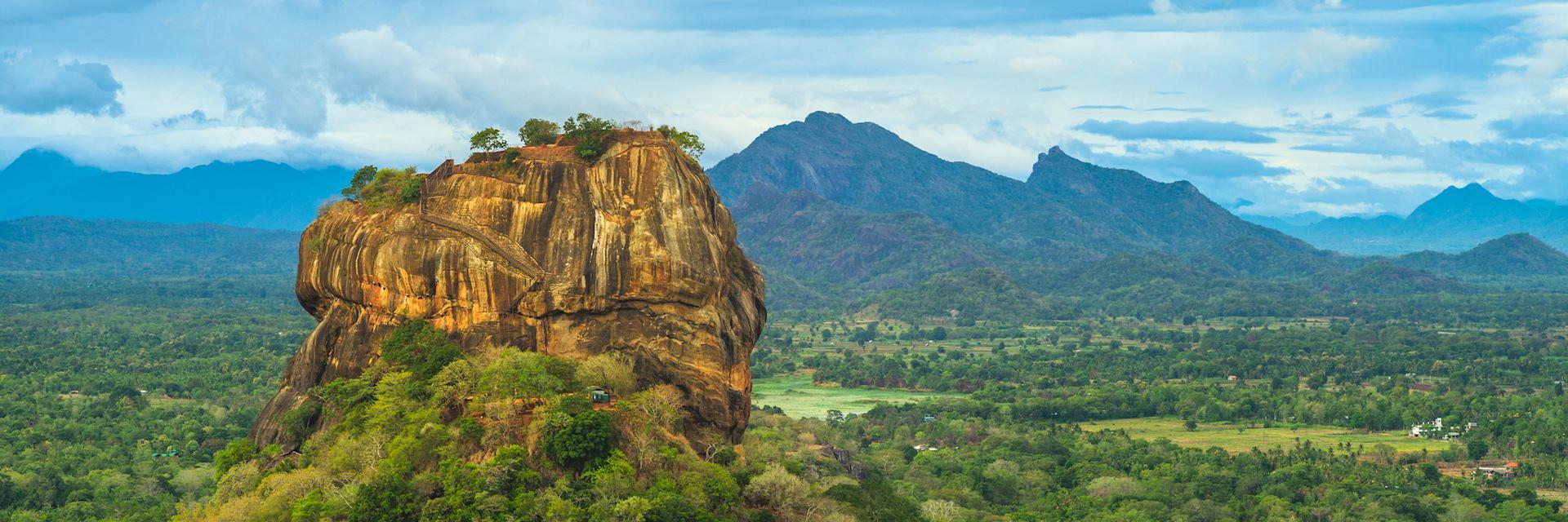 Lion Rock near Dambulla, Sri Lanka