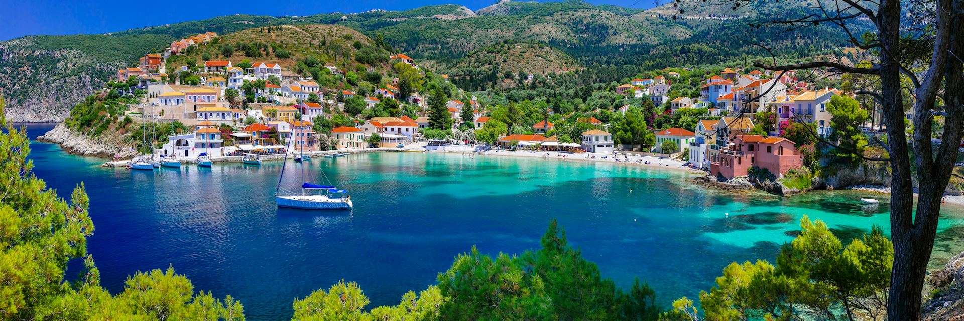 Kefalonia in Greece
