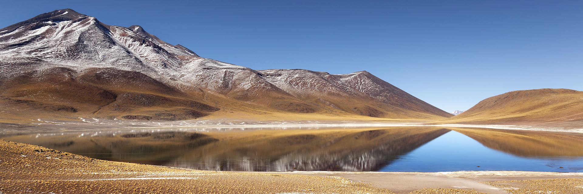 Laguna Miñiques in Chile