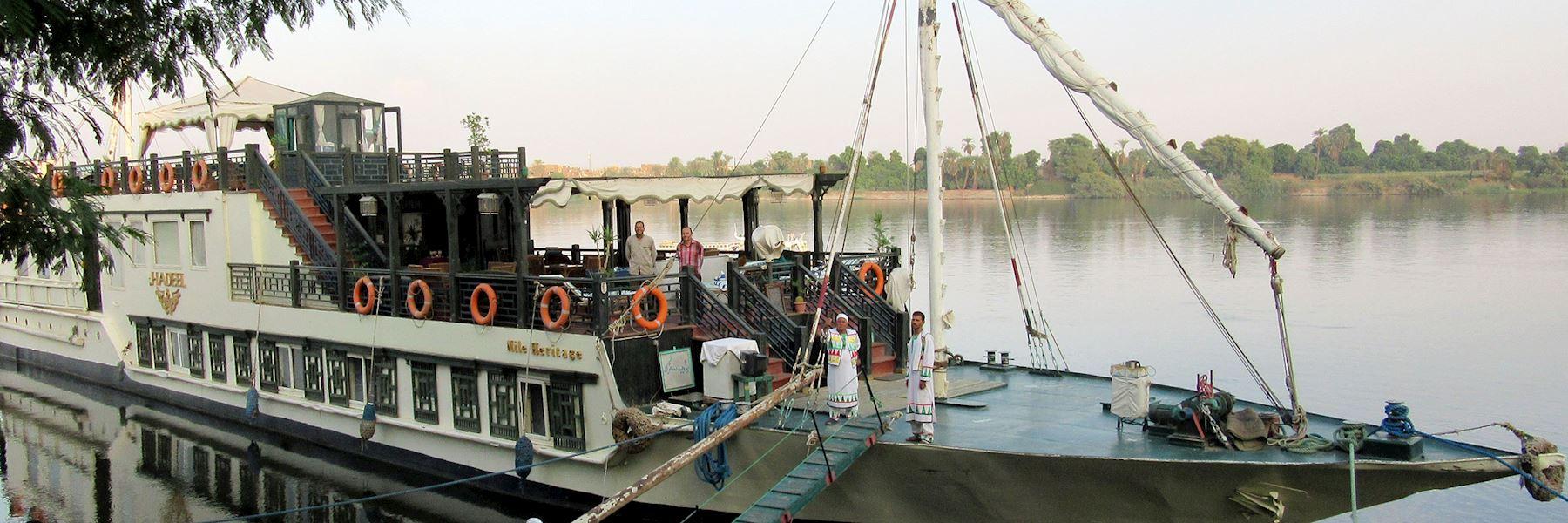 Cruise Ships in Egypt: Hadeel Dahabiyya