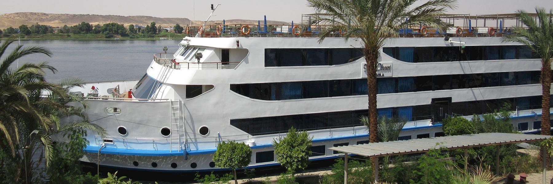 Cruise Ships in Egypt: M/S Oberoi Zahra