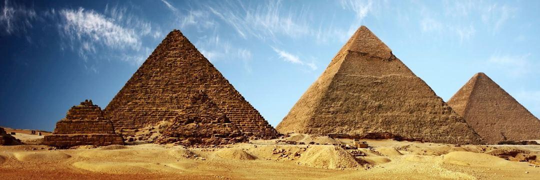 Pyramids at Giza