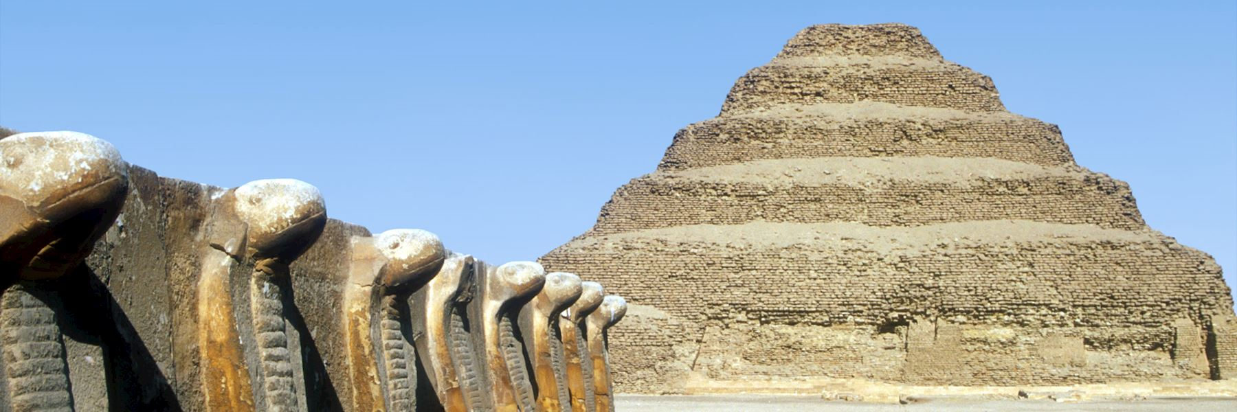 Visit Saqqara, Egypt