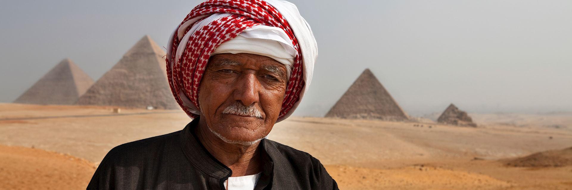 Bedouin at Giza