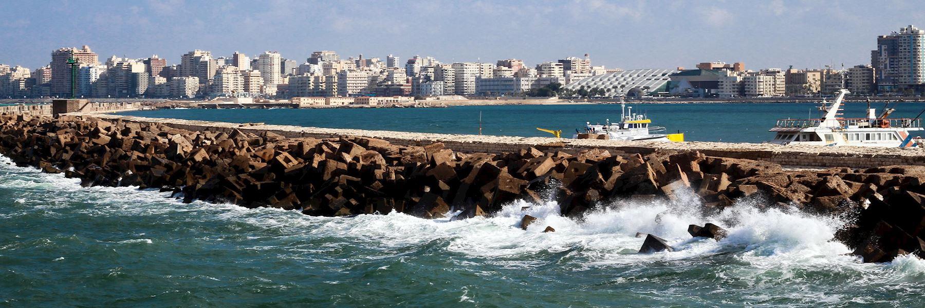 Visit Alexandria, Egypt