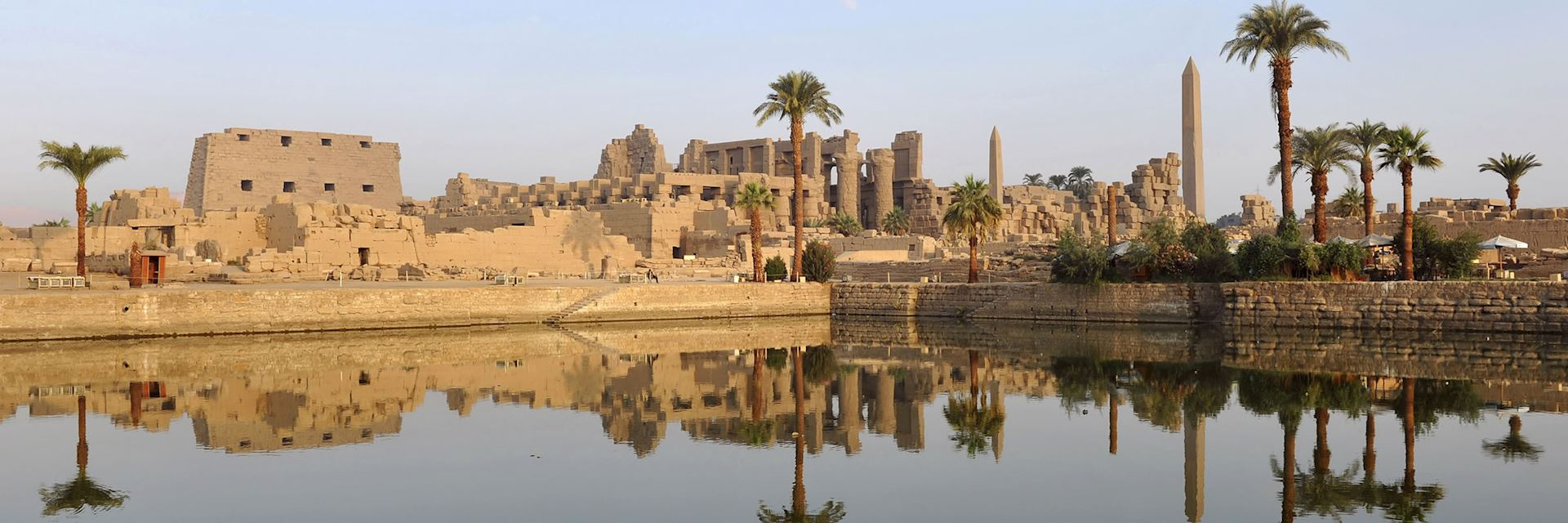 Karnak Temple at dawn
