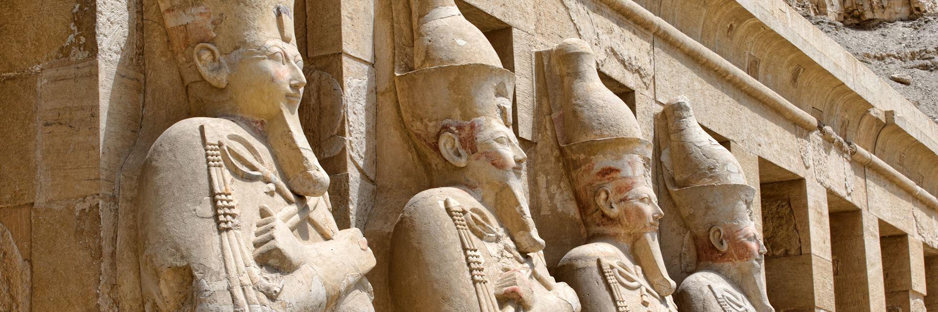 Statues near Luxor