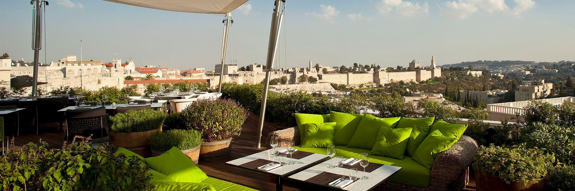 View from Mamilla Hotel, Jerusalem
