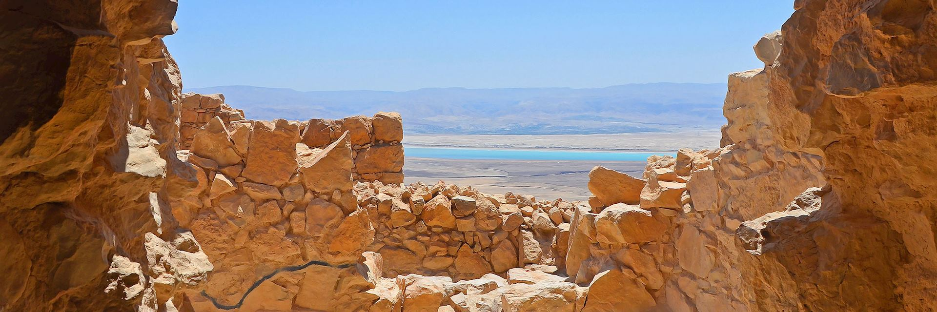 View from Fortress Masada