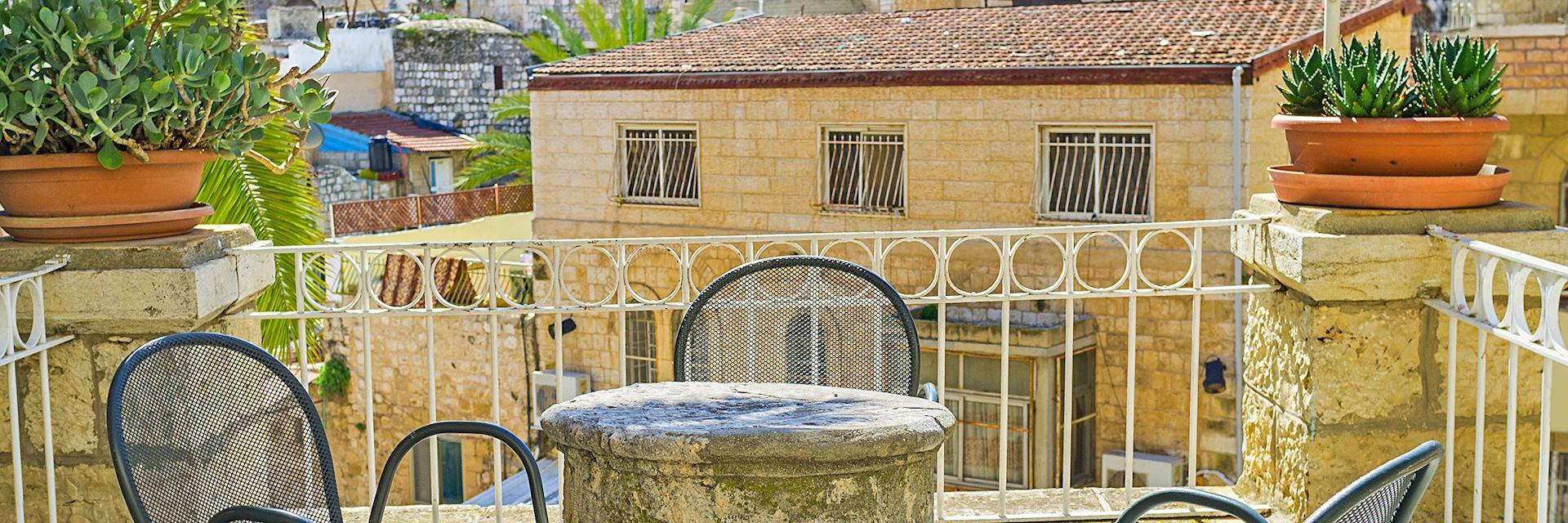 Terrace, Jerusalem