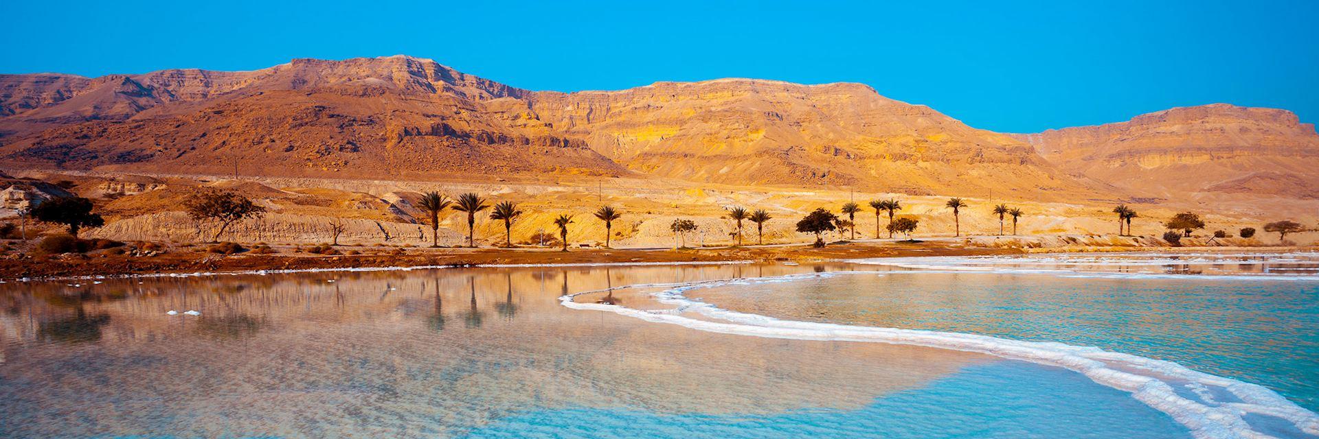 Dead Sea seahore