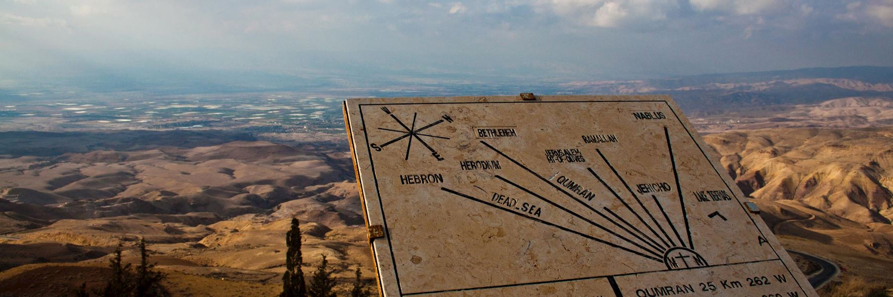 Visit Mount Nebo, Jordan