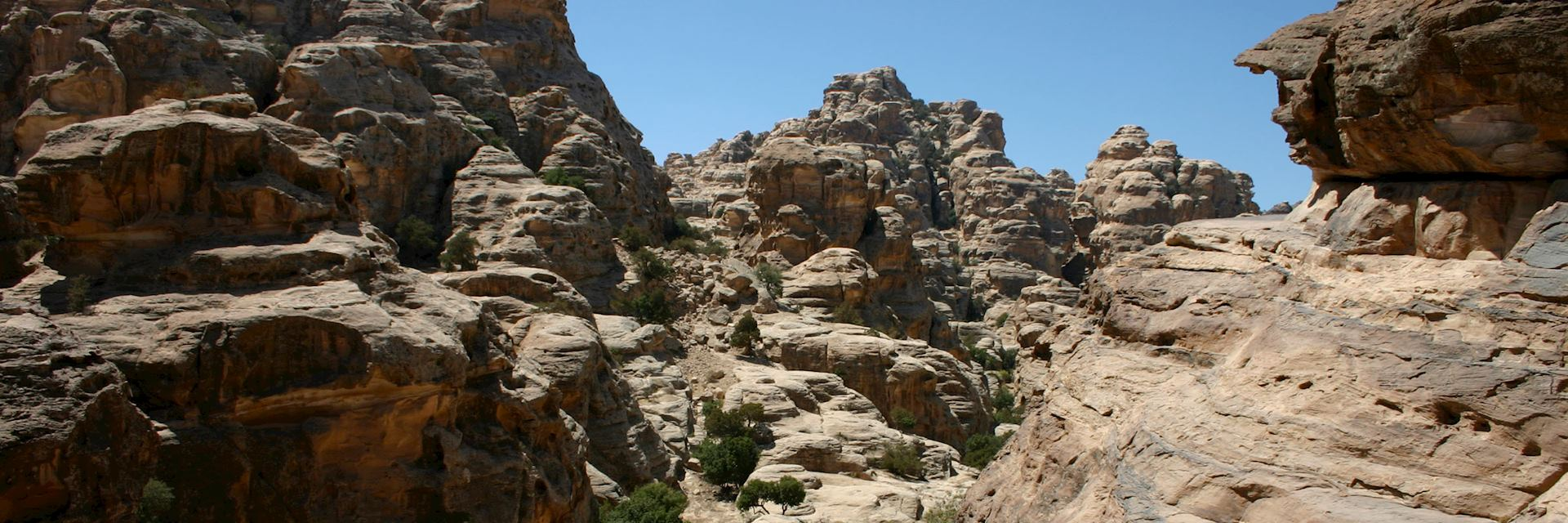Valley near Little Petra, Jordan