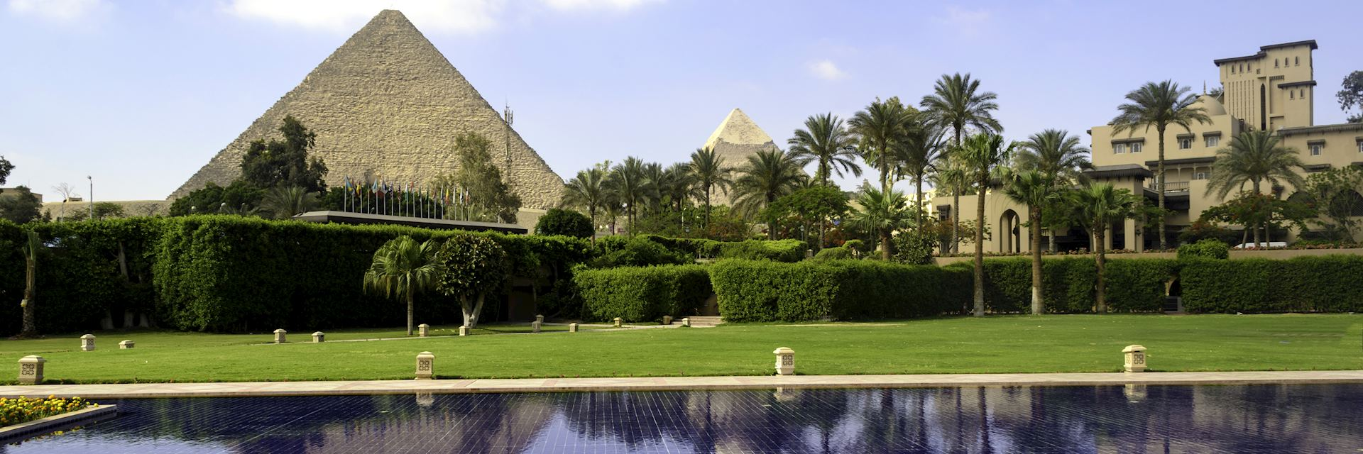 The Marriott Mena House Hotel, Cairo