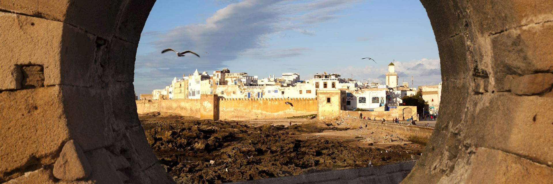 Essaouira at sunset