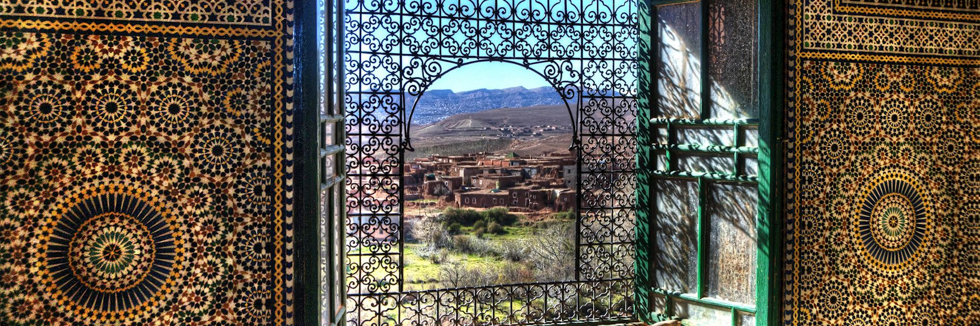 View from Kasbah Telouet