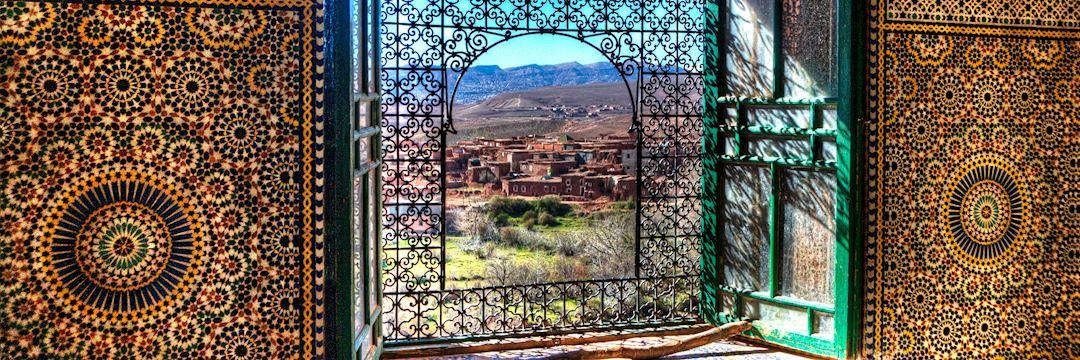 View from Kasbah Telouet