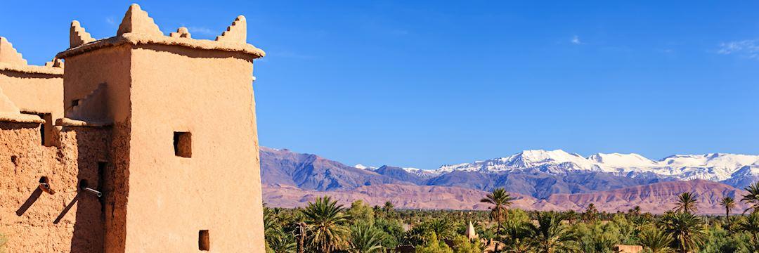 Kasbah near the High Atlas Mountains