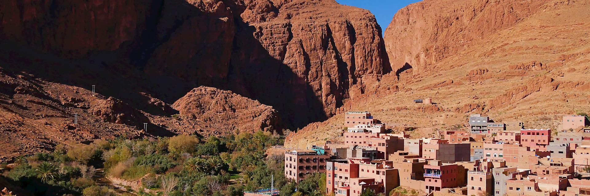 Berber village near Tinghir