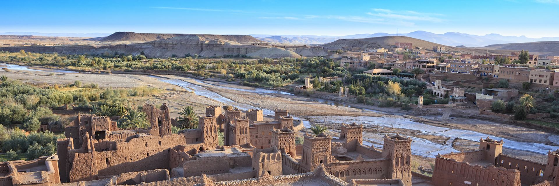 Ait Benhaddou in the High Atlas Mountains