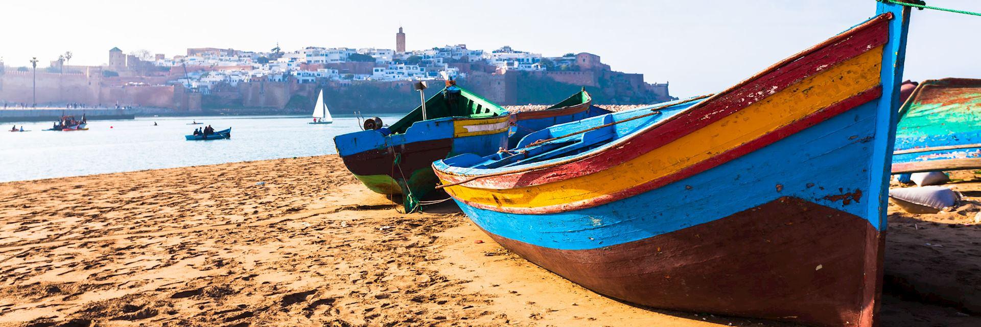 Rabat coastline