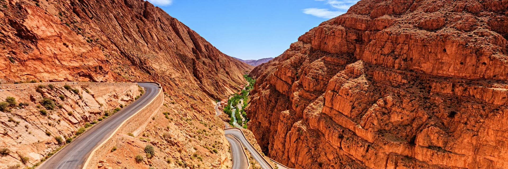 Road in the Dades Valley