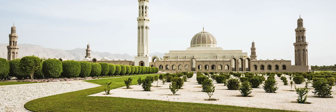 The Sultan Qaboos Grand Mosque
