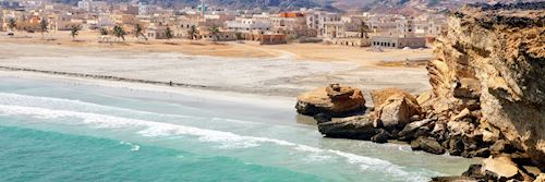 Coastal town of Taqah