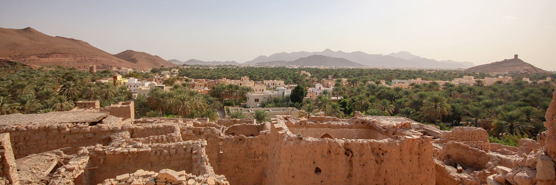 Abandoned village, Nizwa