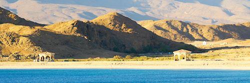 Coastal landscape in Oman