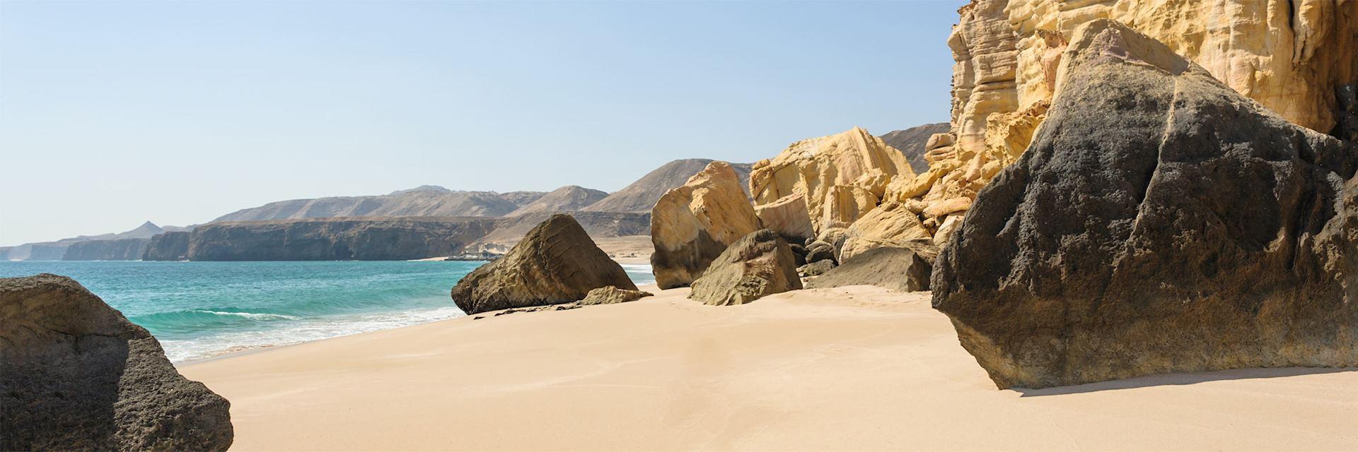 Ras Al Jinz beach