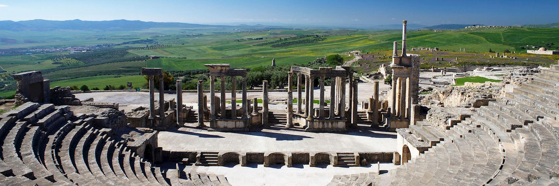 Roman ruins at Dougga