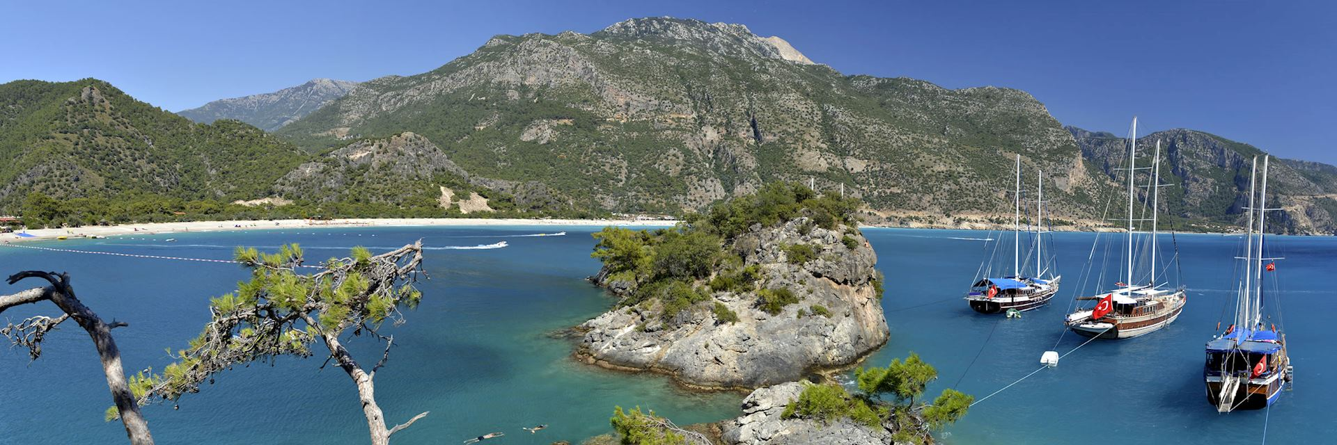 Coastline in Fethiye