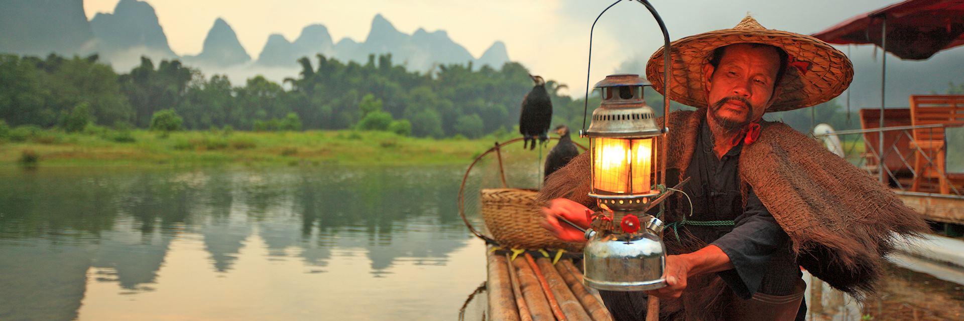 Lijiang fisherman