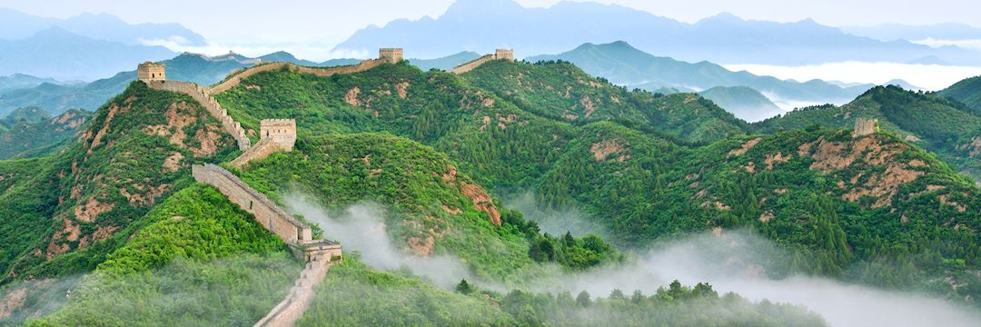 Mist, Great Wall of China