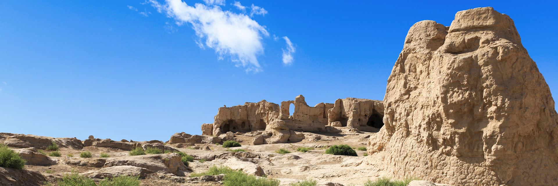 Jiaohe ruins in Turpan