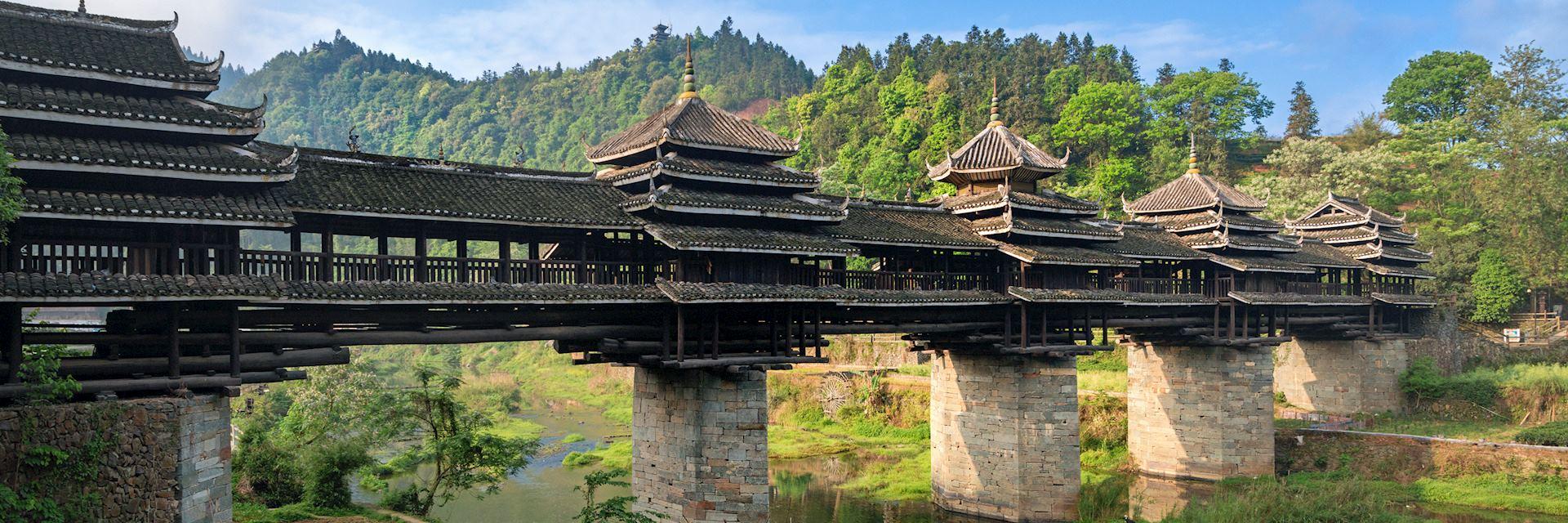 Wind and rain bridge, Chengyang