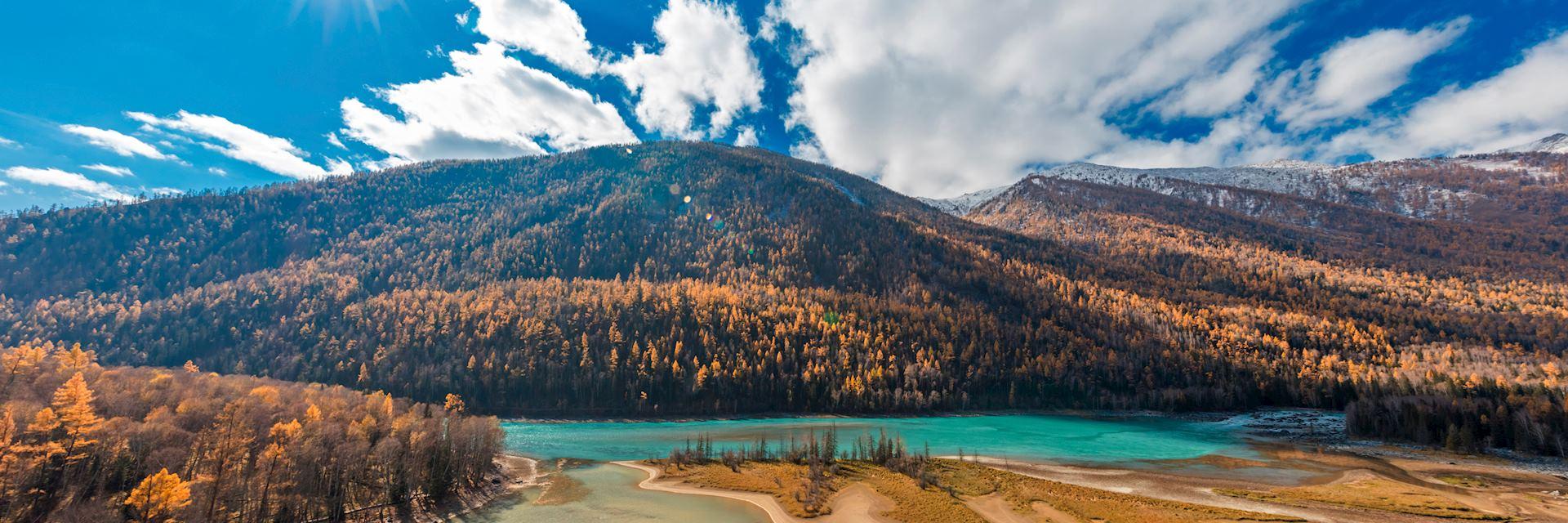 Wolong Bay, Xinjiang