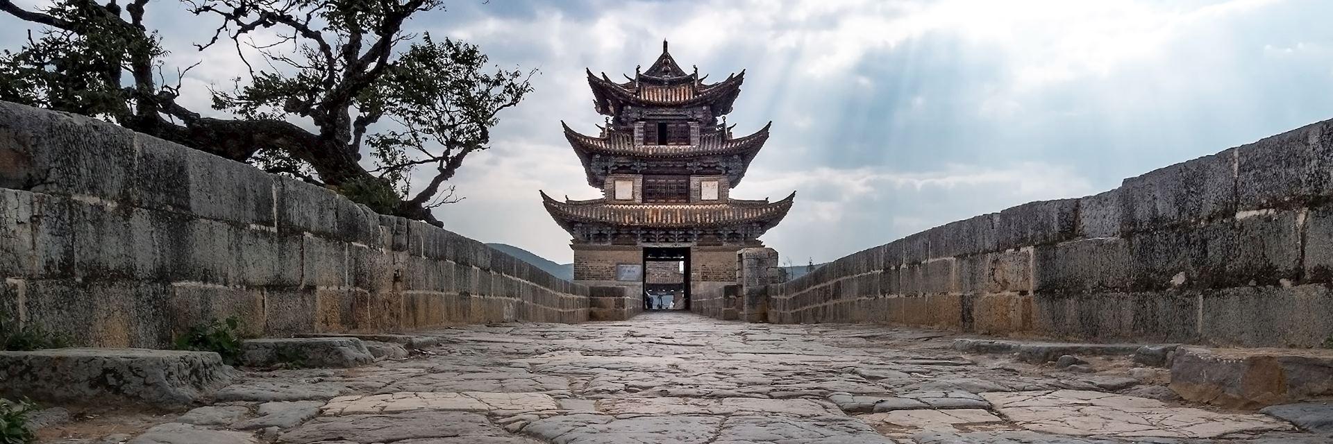 Seventeen-Arch Bridge, Jianshui