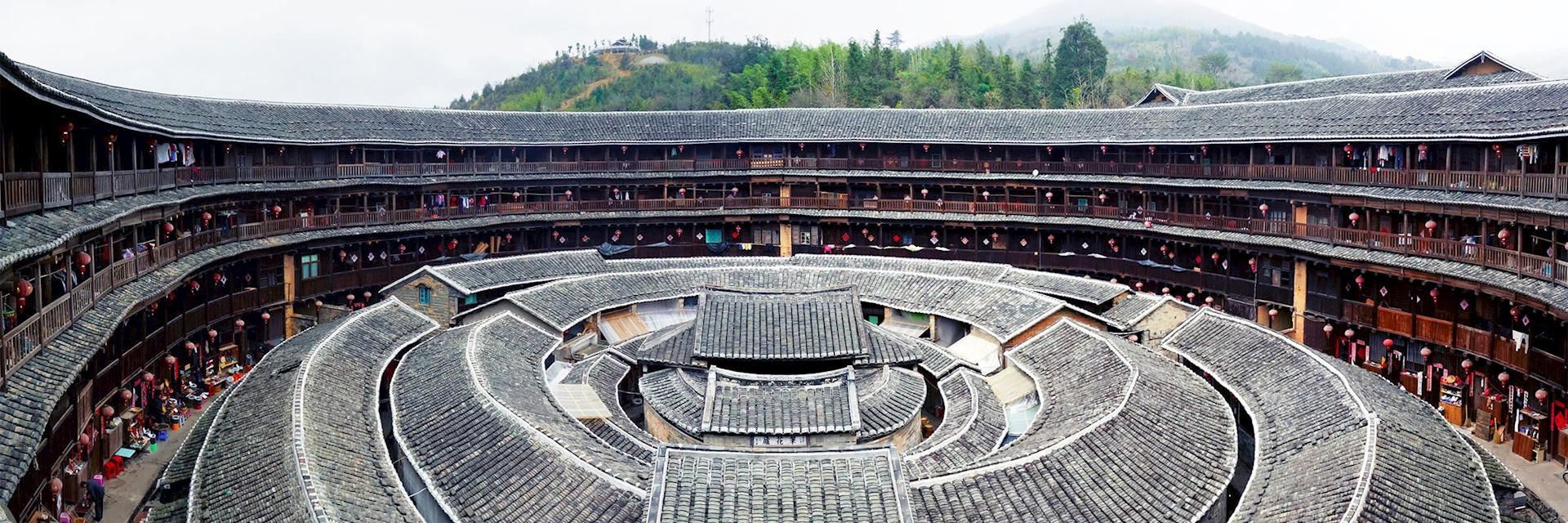 Fujian tulou homes, Xiamen, China