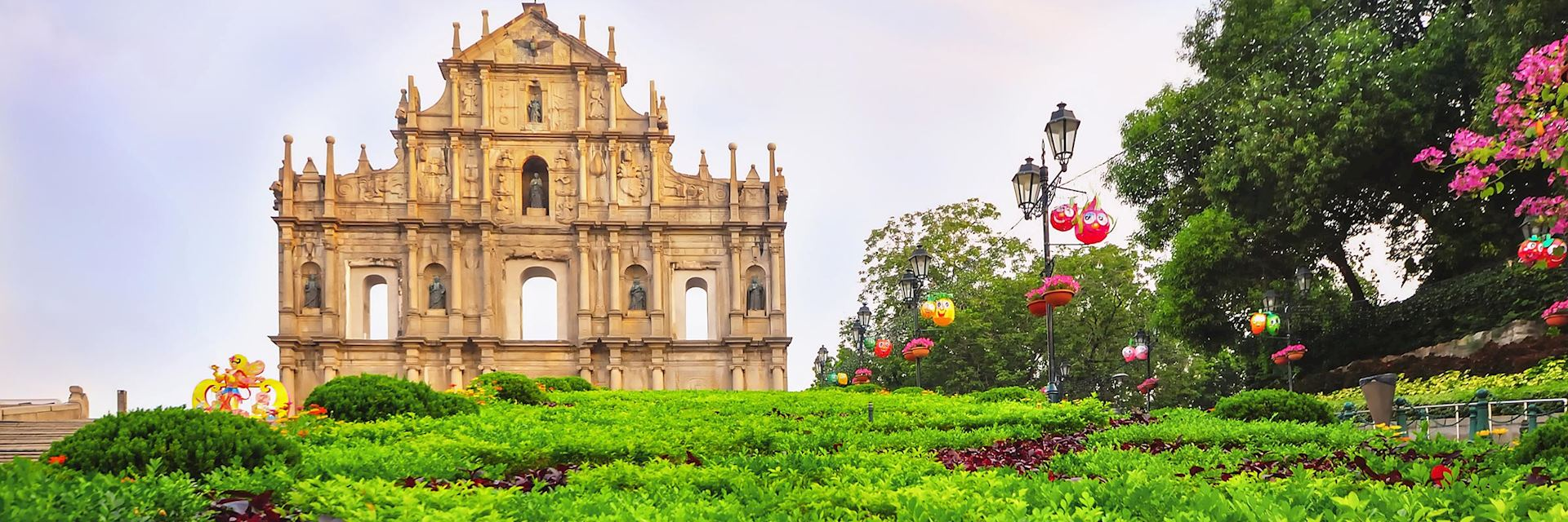 St Paul's Church ruins, Macau