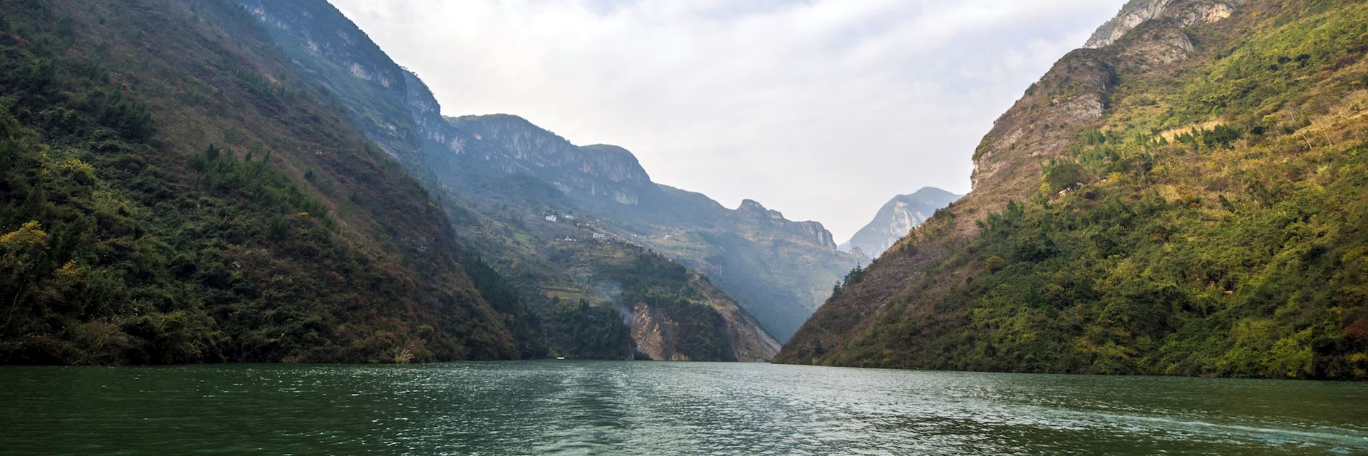 Wu Gorge on the Yangtze River