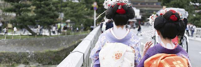 Vakantie japan-Geisha in Kyoto