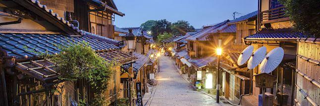 Vakantie japan-Kyoto in de avond