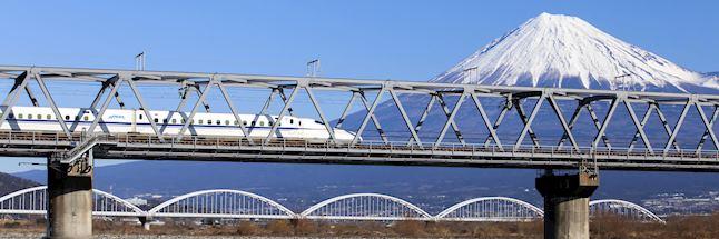 Vakantie japan-met Shinkansen en Mt Fuji