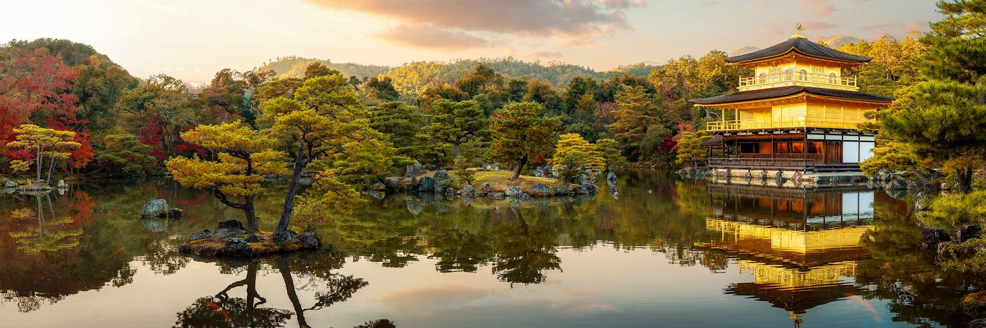 Golden Pavilion of Kinkaku-ji, Kyoto