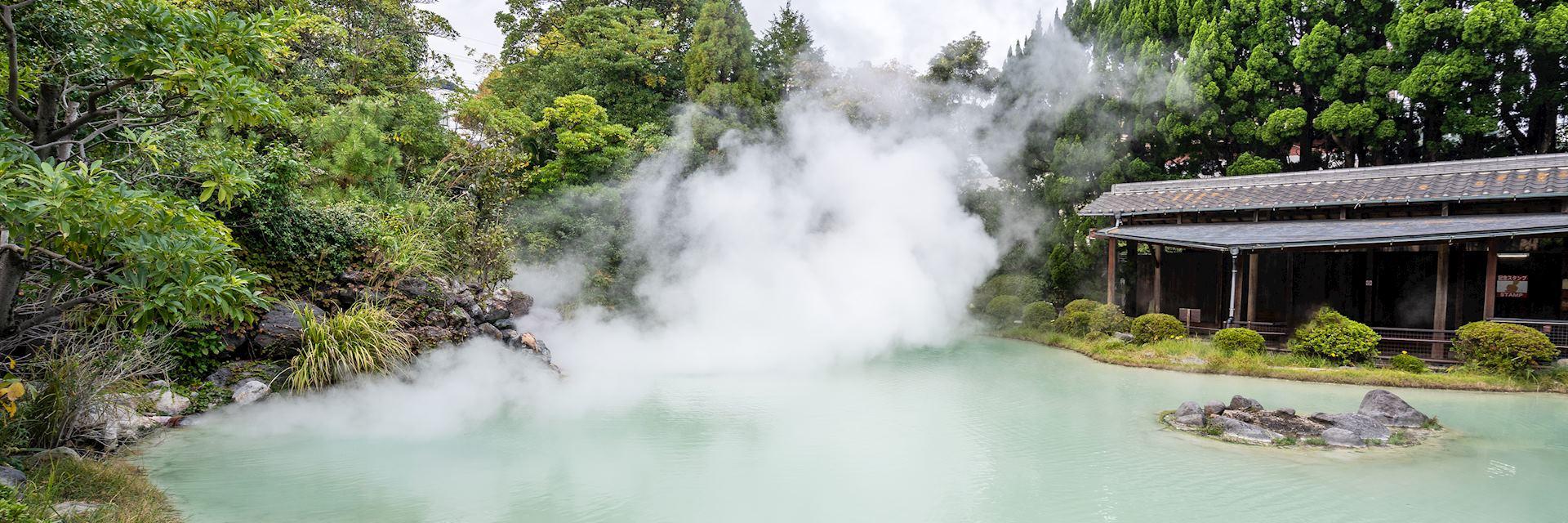 Natural hot spring in Beppu