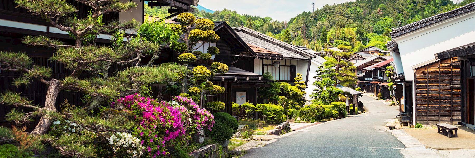 Visit Tsumago, Japan