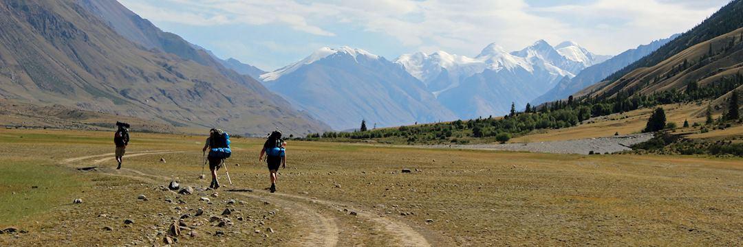 Trekking in the Tien Shan region of Kyrgyzstan